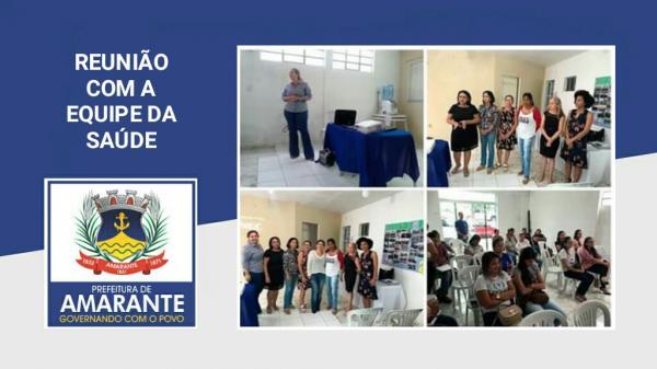 Secretaria Municipal de saúde realiza reunião de articulação do programa passo a frente