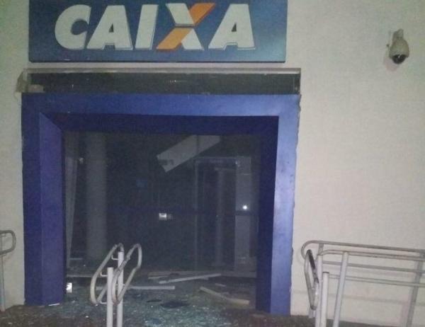 Bando armado explode Banco do Brasil e Caixa Econômica da cidade de Piracuruca