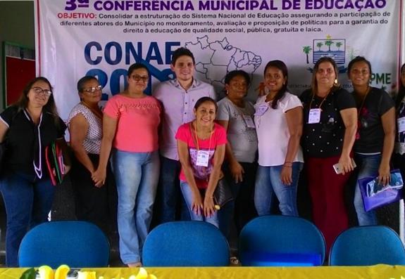 3ª Conferência Municipal de Educação é realizada no Município de São Gonçalo do Piauí