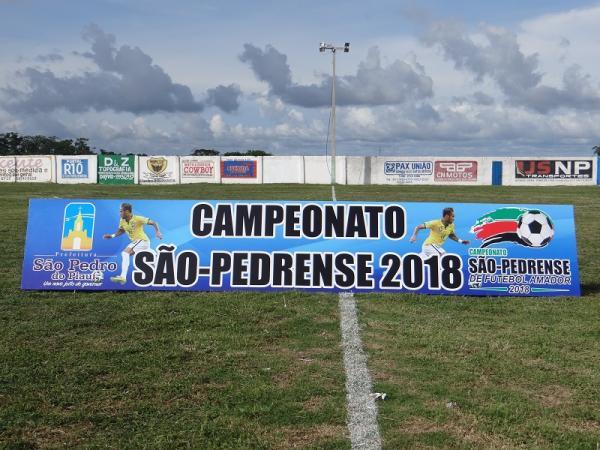 Futebol: Campeonato São Pedrense inicia com a vitória do Pedrense contra o Juventus