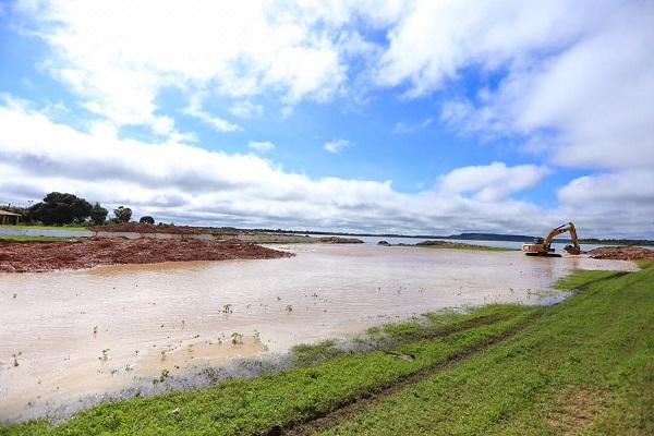 Chega ao fim o vazamento na Barragem do Bezerro e a situação está sob controle