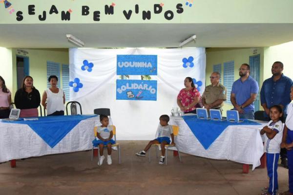 Projeto Uquinha Solidário é lançado na zona rural