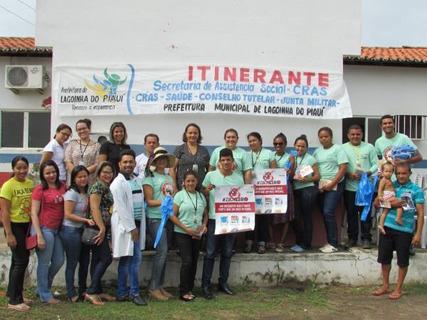 Prefeitura de Lagoinha do Piauí promove CRAS Itinerante com ações gratuitas para população; veja imagens