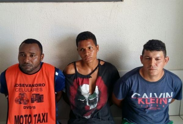 Quatro pessoas, incluindo uma menor, são presas em suspeita de tentativa de assalto em Água Branca
