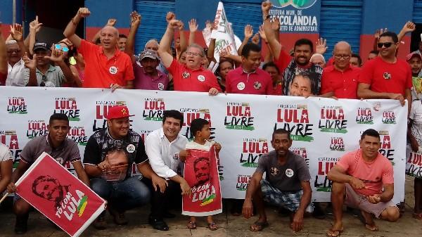 Agricolândia Recebeu a Caravana Lula Livre Piauí