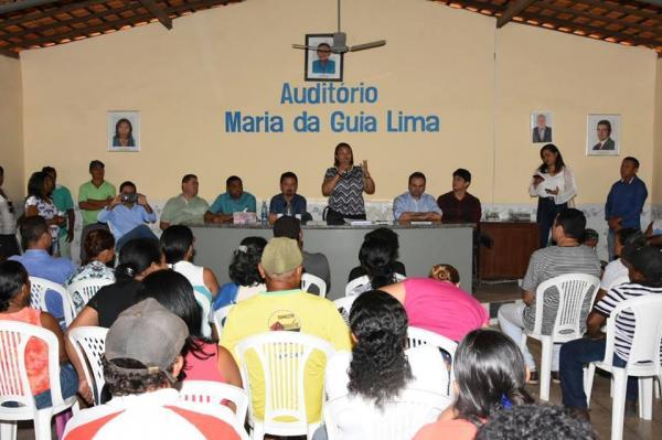 Encontro na sede da Colônia de Pescadores faz reivindicações a Federação e ao deputado Mainha