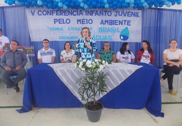 V Conferência Infanto Juvenil pelo Meio Ambiente é realizada em Angical do Piauí; veja imagens