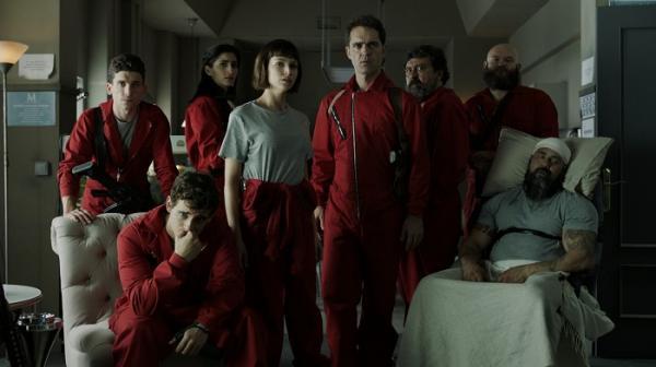 'La Casa de Papel' terá 3ª parte em 2019