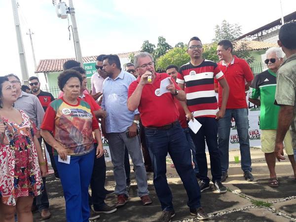 Caravana Lula Livre em Olho D'Água do Piauí (Imagem: Jo Mendes/CANAL 121)