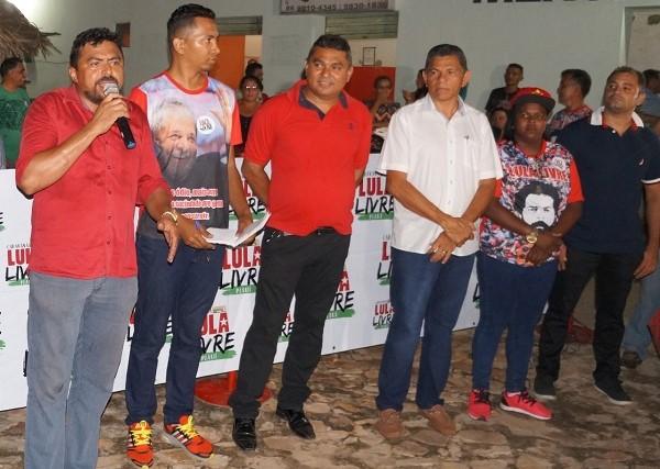 Caravana Lula Livre Piauí visita município de Prata do Piauí
