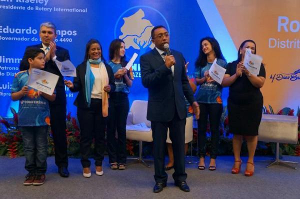 Prefeito Joel Rodrigues participa da 67° Conferência do Rotary Club em Fortaleza