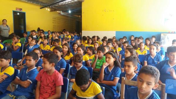 Escolas Públicas de Olho D'Água desenvolvem protejo sobre a história do município