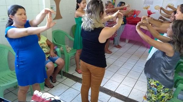 CRAS de Olho D'Água do Piauí realiza encontro com gestantes do município