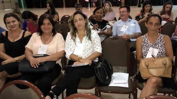 Secretária de Saúde de Olho D'Água do Piauí participa do Encontro Estadual de Fortalecimento da Atenção Básica