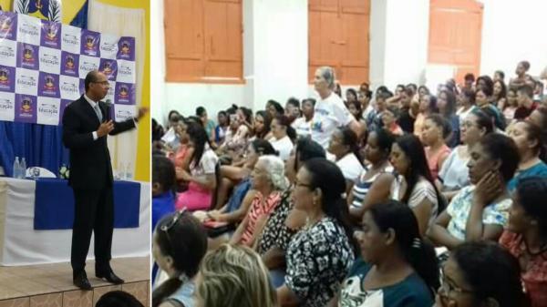 Professores de Amarante comemoram o dia da educação com palestra exclusiva