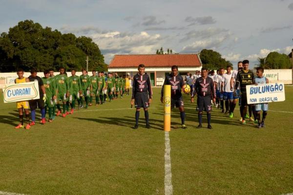 Empate em 0 a 0 marca jogo de abertura do campeonato aguabranquense 2018; veja imagens