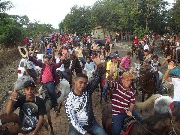 2ª Cavalgada dos Amigos na comunidade Embiratanha foi realizada com sucesso