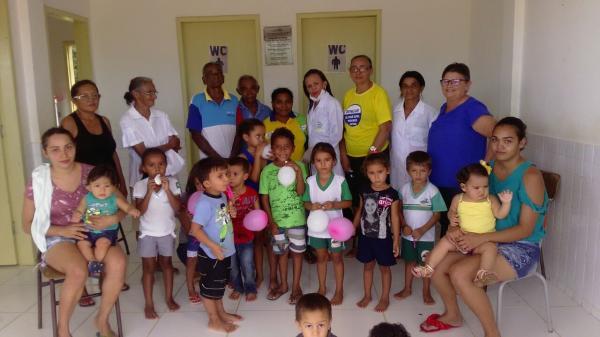 Prefeitura de Prata do Piauí intensifica campanha de vacinação contra gripe na zona rural do município