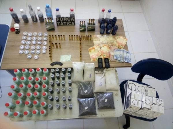 Homem é preso com grande quantidade de munição em cidade da região sul do Piauí