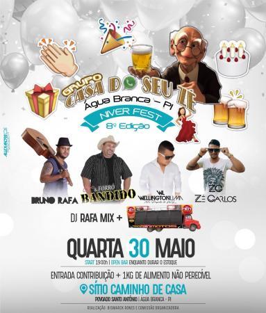 'Casa do Seu Zé Fest 8ª edição', não fique de fora desse mega evento