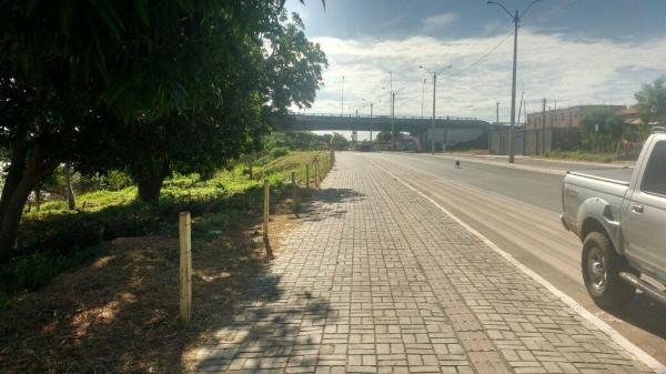 Secretaria de Infraestrutura conclui reparo de canteiros centrais em Floriano