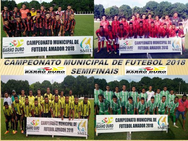 Definido os semifinalistas do campeonato de futebol em Barro Duro