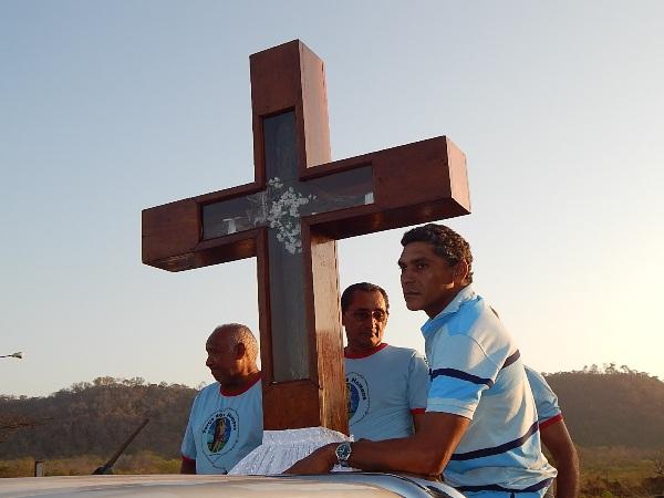 Missa e Carreata de Despedida da Imagem da Santa Cruz, acontece nessa quinta-feira 17 de Maio em Agricolândia
