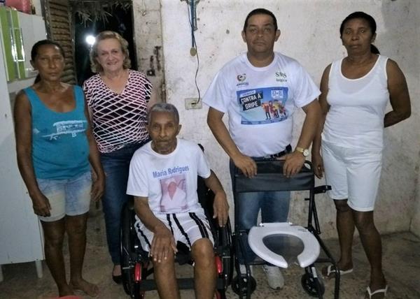 Programa Passo à Frente beneficia pessoas portadoras de necessidades especiais em Angical do Piauí