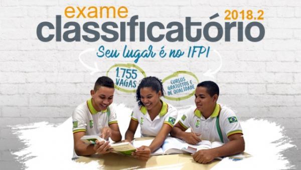 IFPI abre inscrições para 1.755 vagas em cursos técnicos. Vagas para Piripiri em administração e vestuário