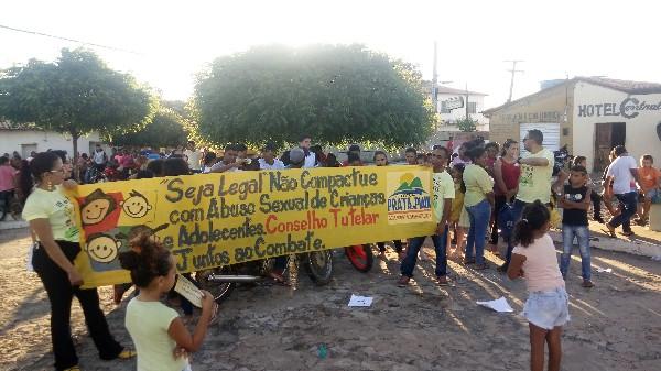 Prefeitura de Prata do Piauí promove evento alusivo ao Dia  Nacional de Combate à Exploração Sexual de Crianças e Adolescentes