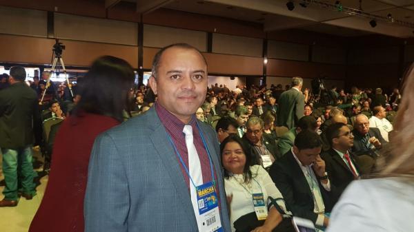 Presidente da Ampar, prefeito Adalberto Filho, participa das XXI Marcha dos Prefeitos em Brasília