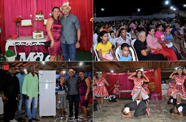 Prefeitura de Santo Antônio dos Milagres promove festa em homenagem às Mães com grande show de prêmios