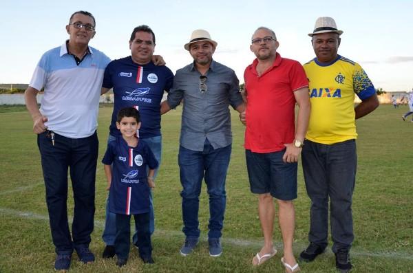 Presidente da Ampar, Dr. Adalberto Filho, prestigia final da VII Copa Quarentões do Médio Parnaíba do Futebol