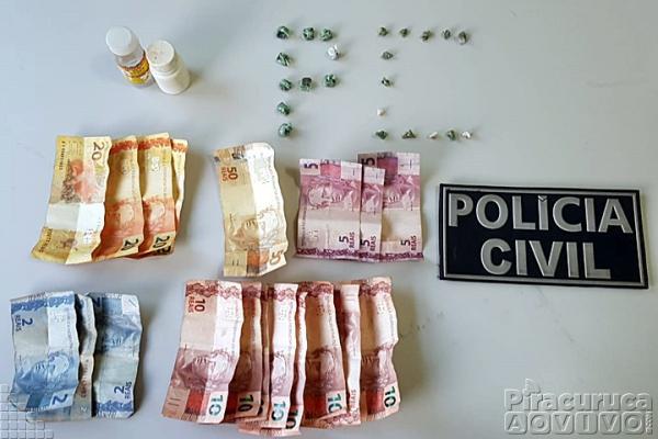 Polícia Civil prende 3 pessoas acusadas de tráfico de drogas em Piracuruca