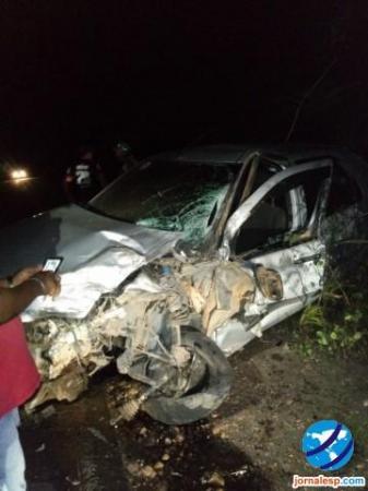 Irmão de prefeito sofre grave acidente e é transferido para Teresina