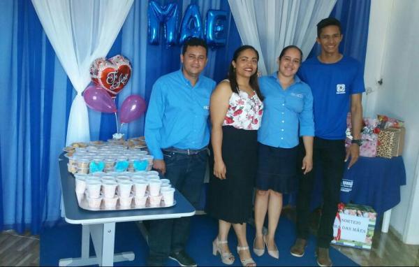 Filial da Pax União realiza festa em comemoração ao dia das mães em Agricolândia