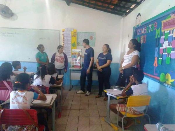 Barro Duro intensifica programa saúde na escola