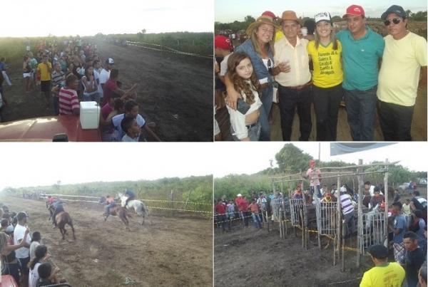 Confira as imagens da tradicional corrida de cavalos de Pitombeira municipio de Agricolândia