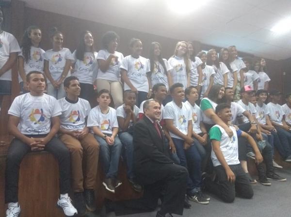 I Encontro Estadual de Adolescentes pela Prevenção e Erradicação do Trabalho Infantil no Piauí (Imagem: Divulgação)