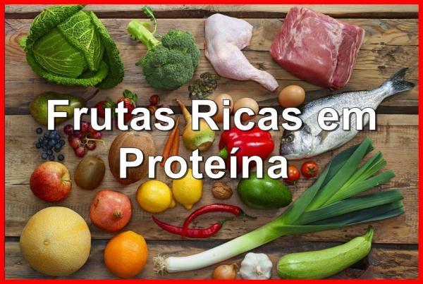 As 10 Frutas Ricas em Proteína