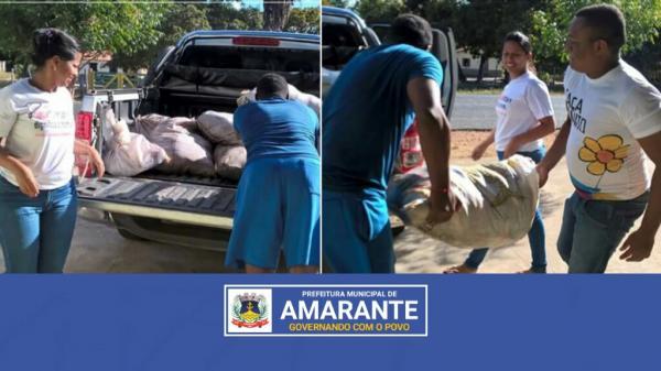 Prefeitura municipal de Amarante entrega 750 Kg de peixes em Comunidades da zona rural