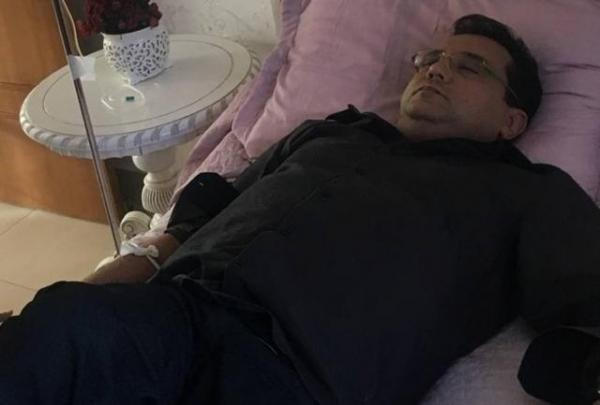Geraldo Luís passa mal em gravação, faz exame e descobre doença