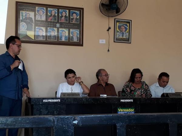 Em audiência pública secretaria de saúde de Barro Duro apresenta relatório de gestão