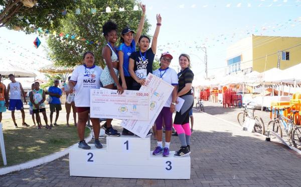 Festejo I Jornada Esportiva leva para as ruas atletas amadores disputando diversas modalidades masculinas e femininas