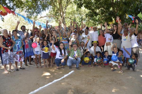 Grupo Alegria de Viver do NASF de Angical do Piauí promove festa junina na comunidade Piranhas; imagens