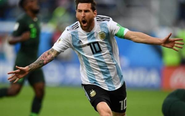 Argentina vence a Nigéria e vai pegar a França nas oitavas