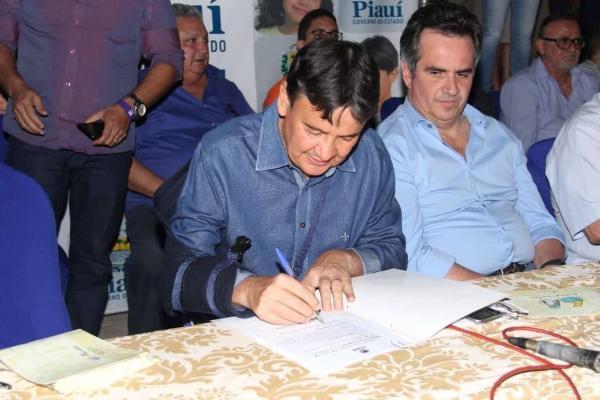 W. Dias autoriza retomada da obra de pavimentação na rodovia que liga Hugo Napoleão à BR 316
