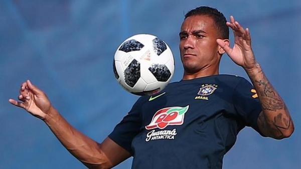 Danilo está fora da Copa do Mundo após sofrer lesão em treino