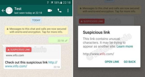 Chega de spam: atualização do WhatsApp traz alerta para links suspeitos