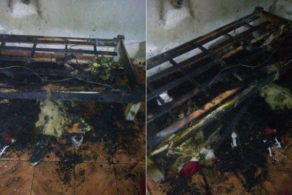 Carregador de celular explode na tomada e incendeia residência no Sul do Piauí